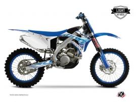 TM MX 250 Dirt Bike Eraser Graphic Kit Blue LIGHT