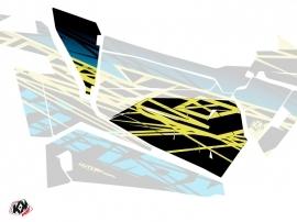 Graphic Kit Doors Origin Low Eraser UTV Polaris RZR 900S/1000/Turbo 2015-2017 Neon Blue