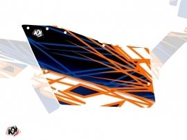 Graphic Kit Doors Origin Polaris Eraser UTV Polaris RZR 570/800/900 2008-2014 Blue Orange