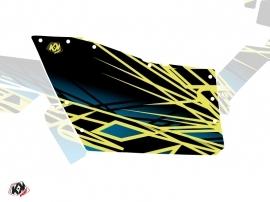 Graphic Kit Doors Origin Polaris Eraser UTV Polaris RZR 570/800/900 2008-2014 Neon Blue