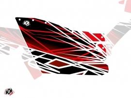 Graphic Kit Doors Origin Polaris Eraser UTV Polaris RZR 570/800/900 2008-2014 Red White