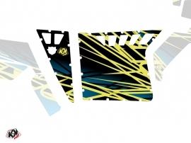 Graphic Kit Doors Suicide Pro Armor Eraser UTV Polaris RZR 570/800/900 2008-2014 Neon Blue