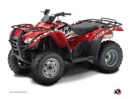 Graphic Kit ATV Eraser Honda Rancher 420 Red White