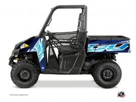 Polaris Ranger 900 UTV ERASER Graphic kit Blue