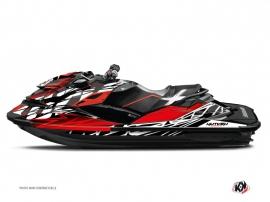 Graphic Kit Jet Ski Eraser Seadoo RXT-GTX Red White