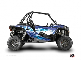 Polaris RZR 1000 Turbo UTV ERASER Graphic kit Blue