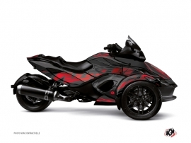 Graphic Kit Eraser Can Am Spyder RS Grey Red
