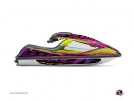 Graphic Kit Jet Ski Eraser Kawasaki SXR 800 Green