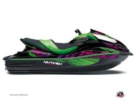 Graphic Kit Jet Ski Eraser Kawasaki Ultra 300-310 Green