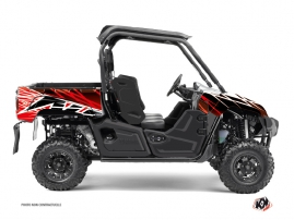 Graphic Kit UTV Eraser Yamaha Viking Red White