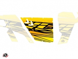 Graphic Kit Doors Standard XRW Eraser Can Am Commander 2011-2017 Yellow