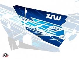 Graphic Kit Doors Standard XRW Eraser UTV Polaris RZR 900S/1000/Turbo 2015-2017 Blue