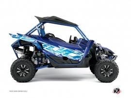 Yamaha YXZ 1000 R UTV ERASER Graphic kit Blue