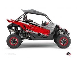 Yamaha YXZ 1000 R UTV ERASER Graphic kit Grey Red