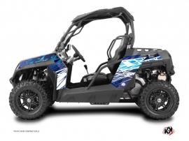 CF Moto Z Force 1000 UTV ERASER Graphic kit Blue