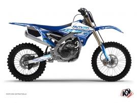 Graphic Kit Dirt Bike Eraser Yamaha 250 YZF Blue