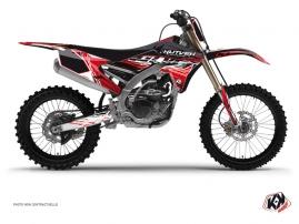 Graphic Kit Dirt Bike Eraser Yamaha 250 YZF Red White