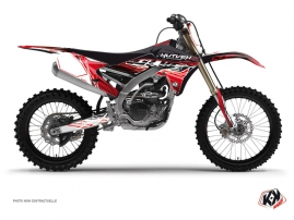 Yamaha 450 YZF Dirt Bike ERASER Graphic kit Red White