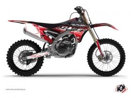 Graphic Kit Dirt Bike Eraser Yamaha 450 YZF Red White