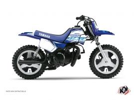 Graphic Kit Dirt Bike Eraser Yamaha PW 50 Blue