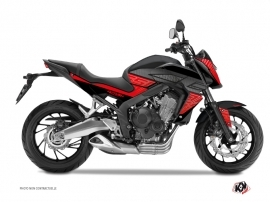 Graphic Kit Street Bike Essential Honda CB 650 F Red Black
