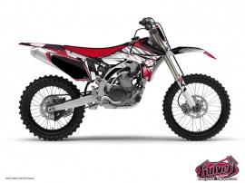 Graphic Kit Dirt Bike Factory Yamaha 250 YZ Red