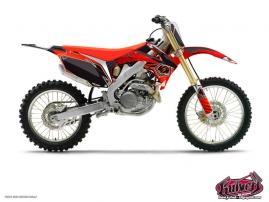 Graphic Kit Dirt Bike Factory Honda 125 CR