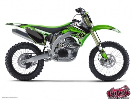 Kawasaki 250 KXF Dirt Bike Factory Graphic Kit