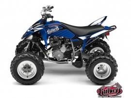 Yamaha 250 Raptor ATV FACTORY Graphic kit Blue
