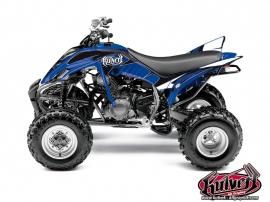 Graphic Kit ATV Factory Yamaha 350 Raptor Blue