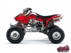 Graphic Kit ATV Factory Honda 450 TRX
