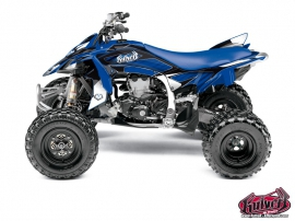 Graphic Kit ATV Factory Yamaha 450 YFZ R Blue