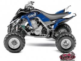 Yamaha 700 Raptor ATV Factory Graphic Kit Blue