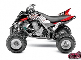 Yamaha 700 Raptor ATV Factory Graphic Kit Red