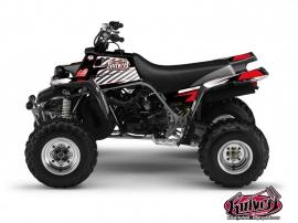 Yamaha Banshee ATV FACTORY Graphic kit Red