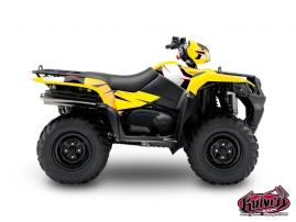 Graphic Kit ATV Factory Suzuki King Quad 750