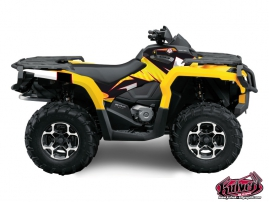 Can Am Outlander 1000 ATV FACTORY Graphic kit
