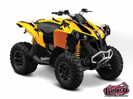 Can Am Renegade ATV FACTORY Graphic kit