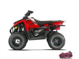 Polaris Scrambler 500 ATV FACTORY Graphic kit