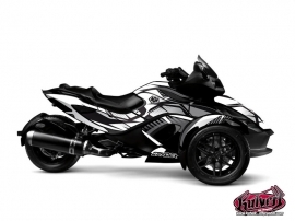 Graphic Kit Factory Can Am Spyder RS Grey