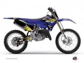 Yamaha 125 YZ Dirt Bike FLOW Graphic kit Yellow