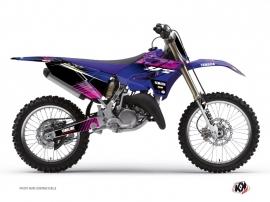 Yamaha 125 YZ Dirt Bike FLOW Graphic kit Pink