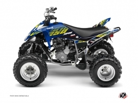 Yamaha 250 Raptor ATV FLOW Graphic kit Yellow