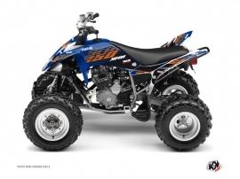 Yamaha 250 Raptor ATV FLOW Graphic kit Orange