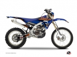 Yamaha 250 WRF Dirt Bike FLOW Graphic kit Orange
