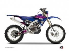 Yamaha 250 WRF Dirt Bike FLOW Graphic kit Pink