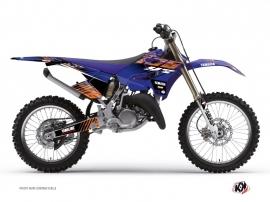 Graphic Kit Dirt Bike Flow Yamaha 250 YZ Orange