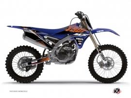Graphic Kit Dirt Bike Flow Yamaha 250 YZF Orange