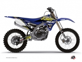 Yamaha 450 YZF Dirt Bike FLOW Graphic kit Yellow