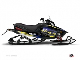 Graphic Kit Snowmobile Flow Yamaha Apex Yellow